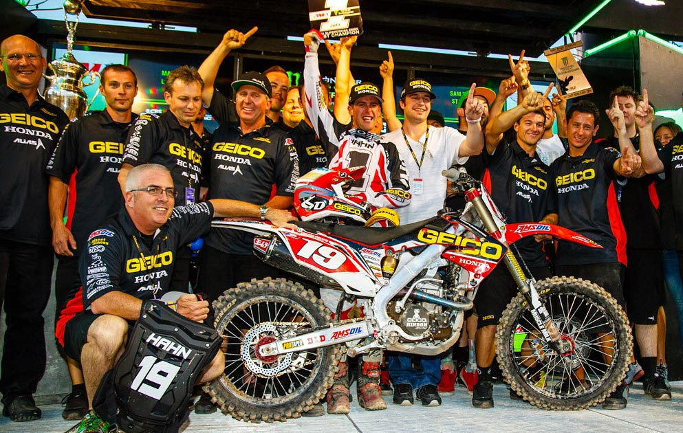 CONGRATULATIONS TO WIL HAHN